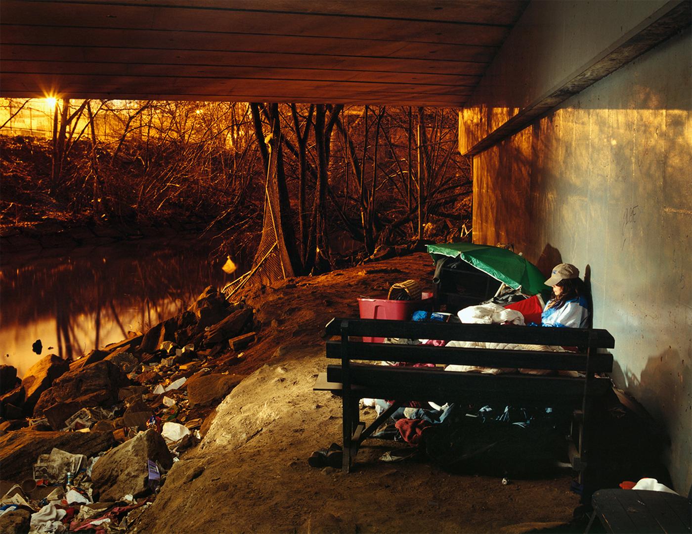Nancy - homeless woman - Bronx, NY