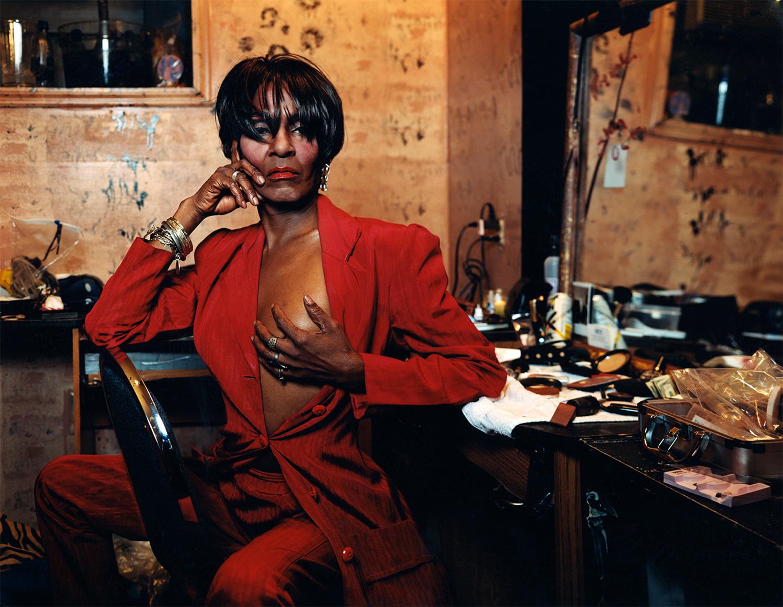 "Lady Chablis- transgender ""drag"" performer - Savannah, GE"