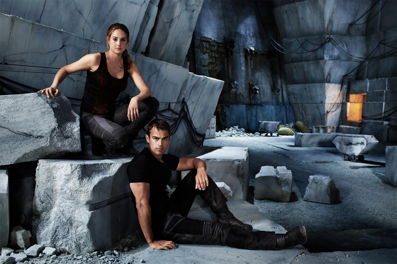 Shailene Woodley and Theo James - Chicago, NY