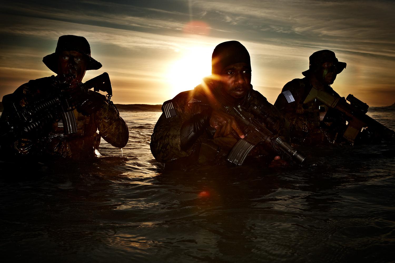 Navy Seals Training Exercise - Coronado Island, CA