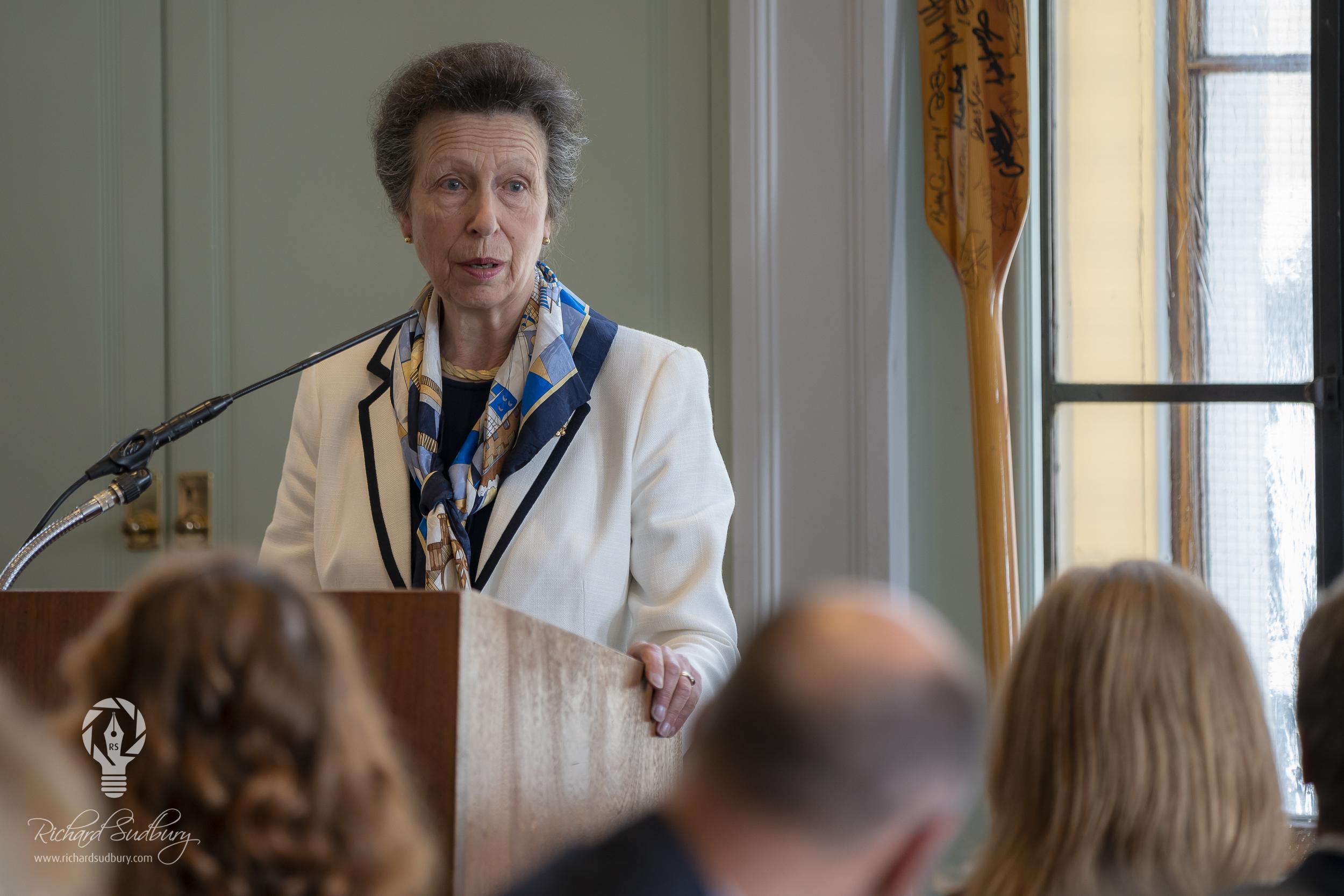 Princess Anne Speech