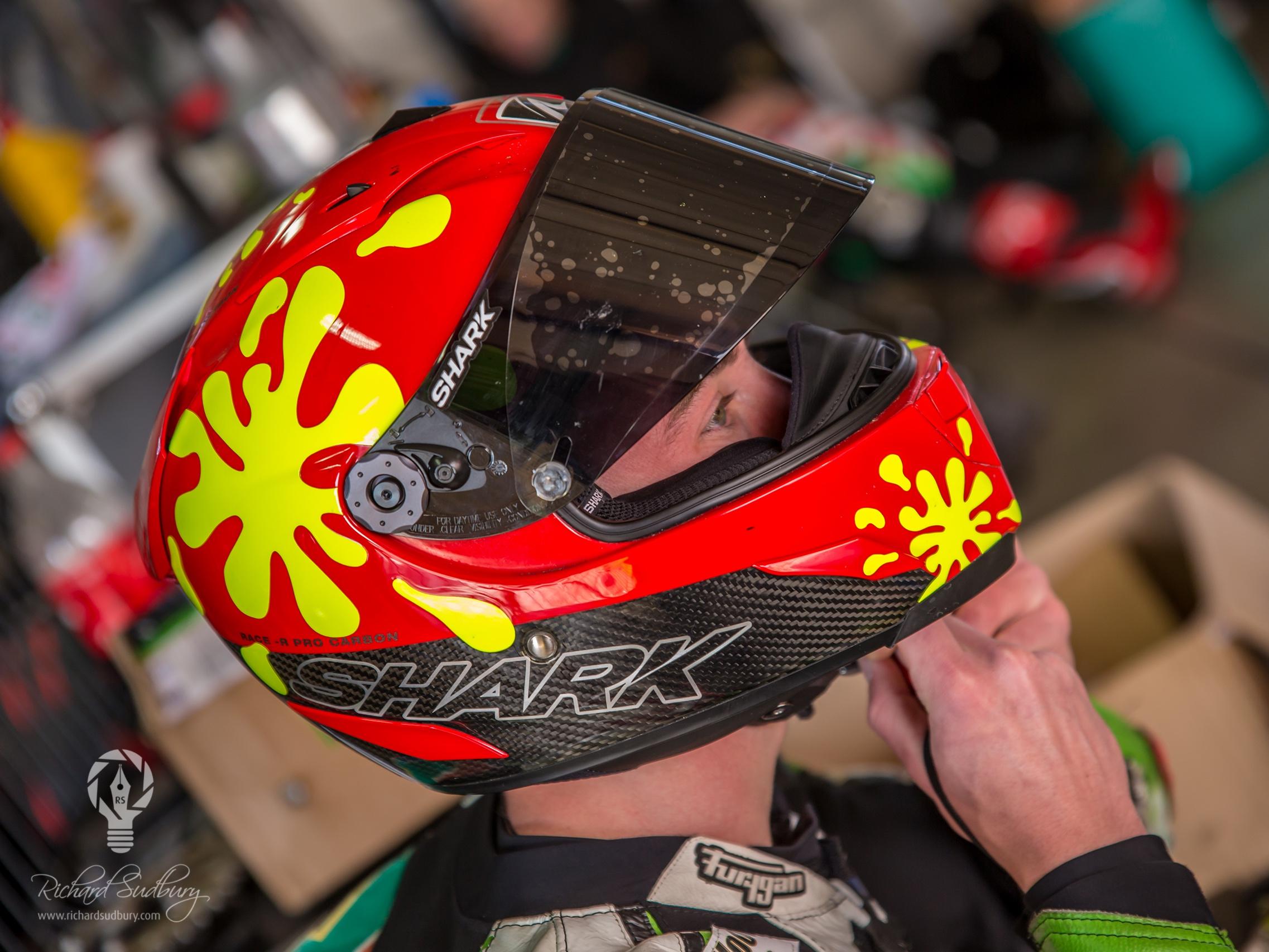Helmet On