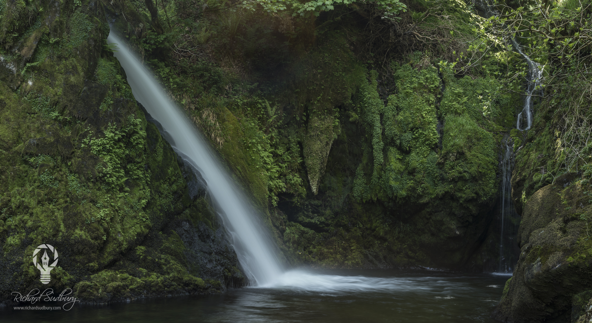 Ceunant Mawr Falls