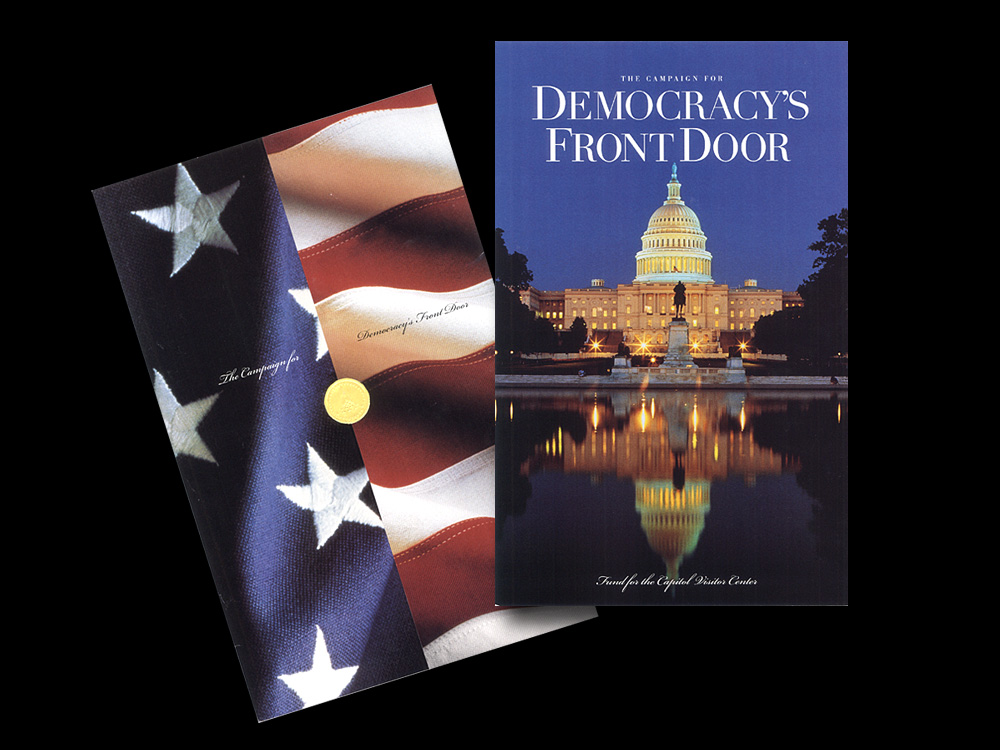 Capitol Visitor Center:  Campaign for Democracy's Front Door