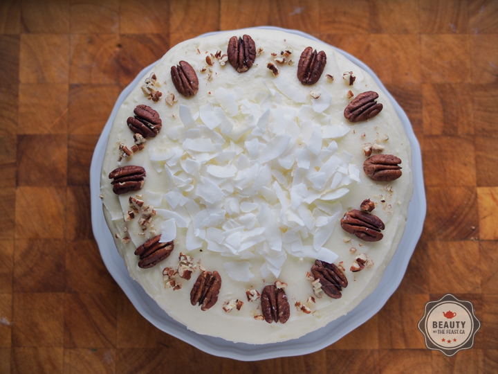 The moistest most interesting carrot cake you'll ever receive compliments on.