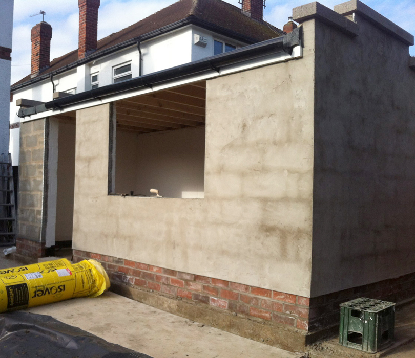 New Garage Construction-West Design and Build of Hedon-East Riding Builders 20.jpg