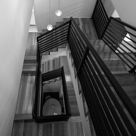 Stairs on stairs on stairs . . .  #davisurban  #architecture  #stairs #denver #architecturaldetail