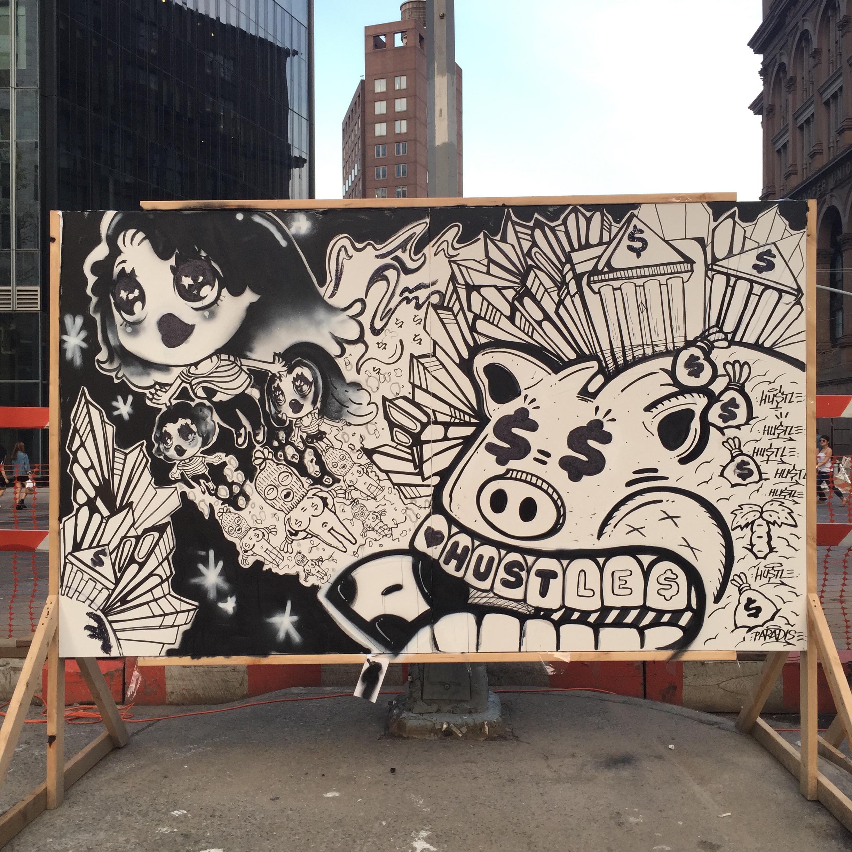 SECRET WALLS x NYCxDESIGN 2015