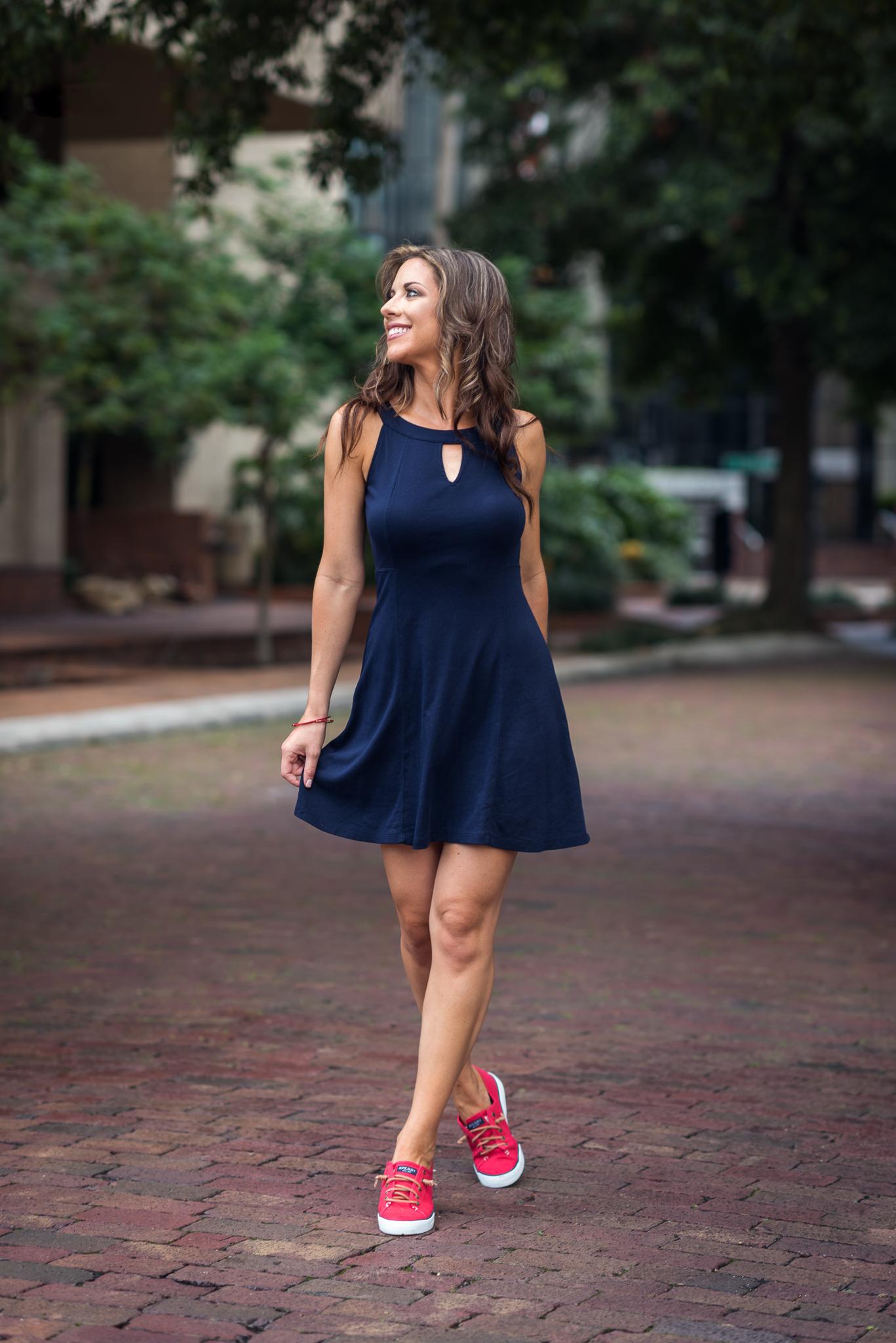 Kristin Alongi - Fashion Blogger, Suits N' Sneaks