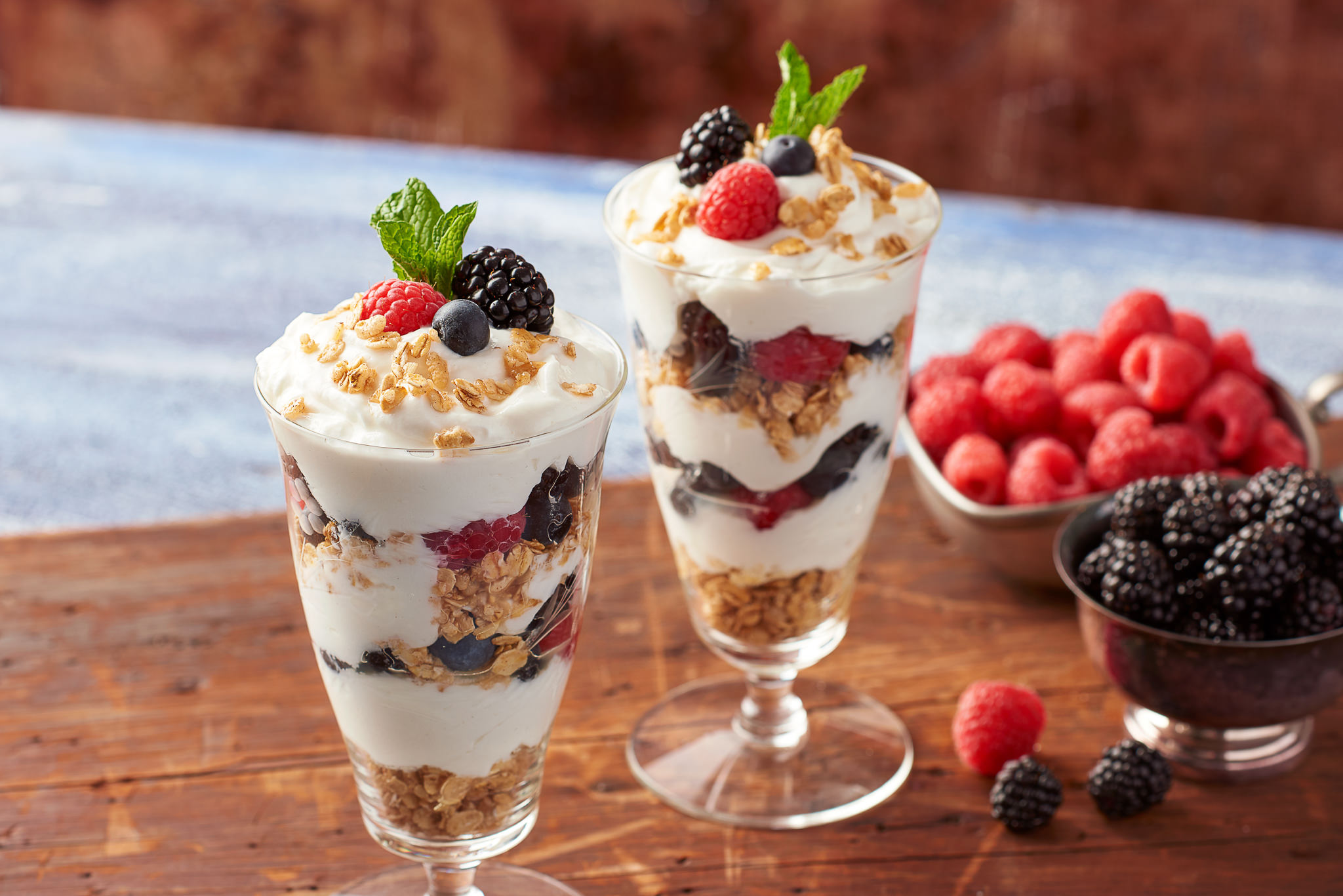 Raspberry Blueberry Yogurt Parfait Food Photography for Publix Supermarkets Photography by Nick Pecori Tampa Commercial Advertising Photographer-9.jpg