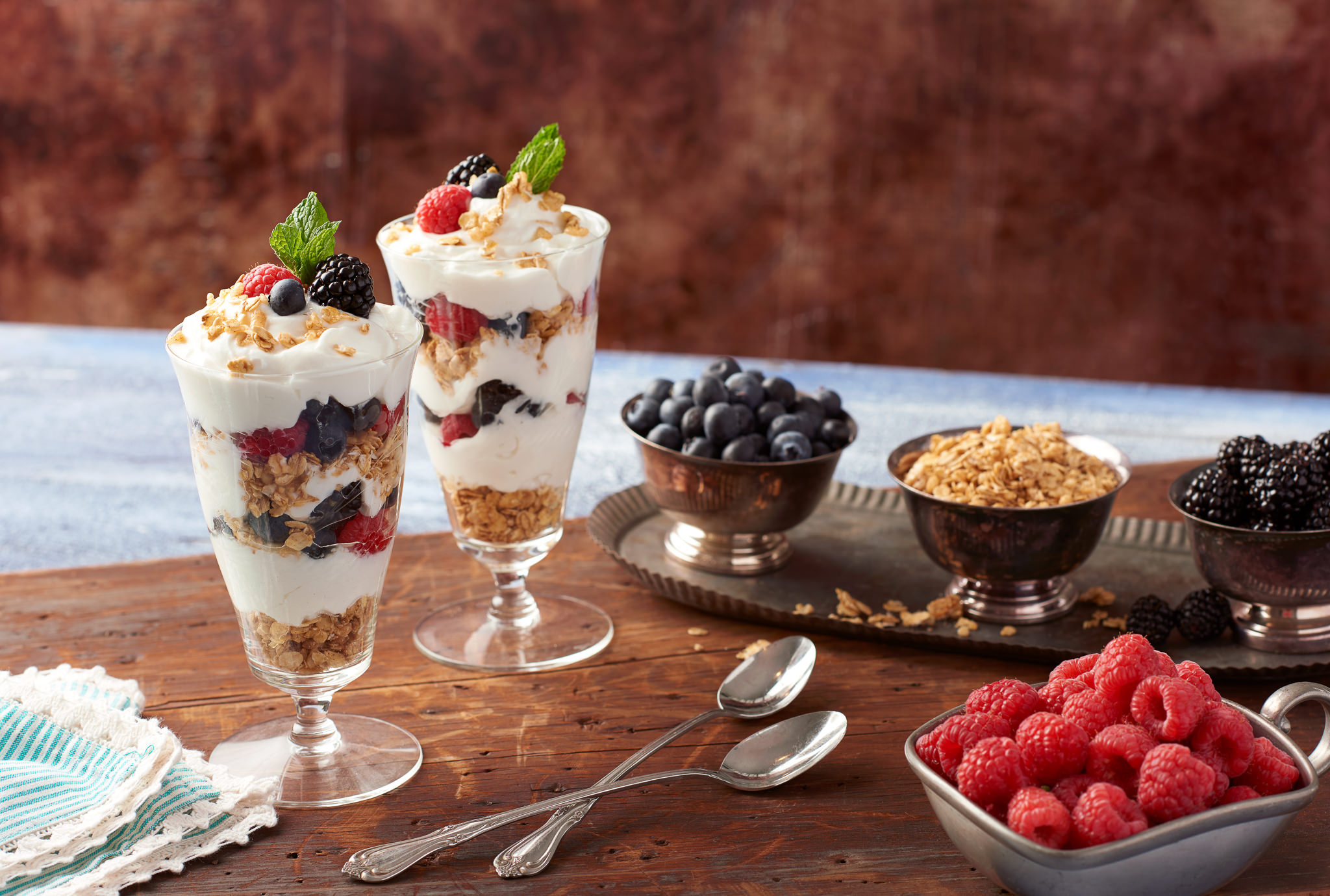 Raspberry Blueberry Yogurt Parfait Food Photography for Publix Supermarkets Photography by Nick Pecori Tampa Commercial Advertising Photographer-6.jpg