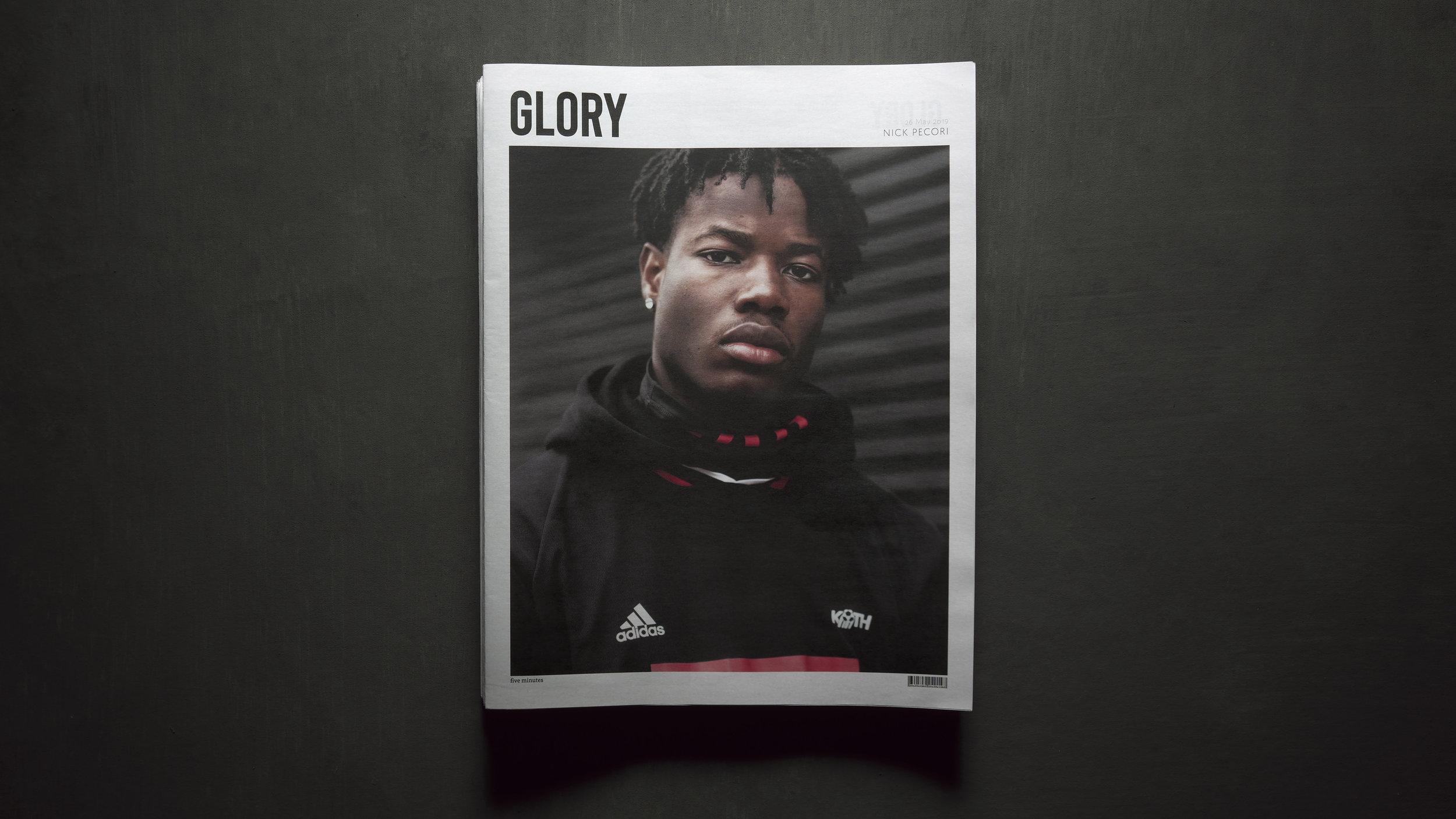 Glory Newspaper Stack Nick Pecori Photographer.jpg