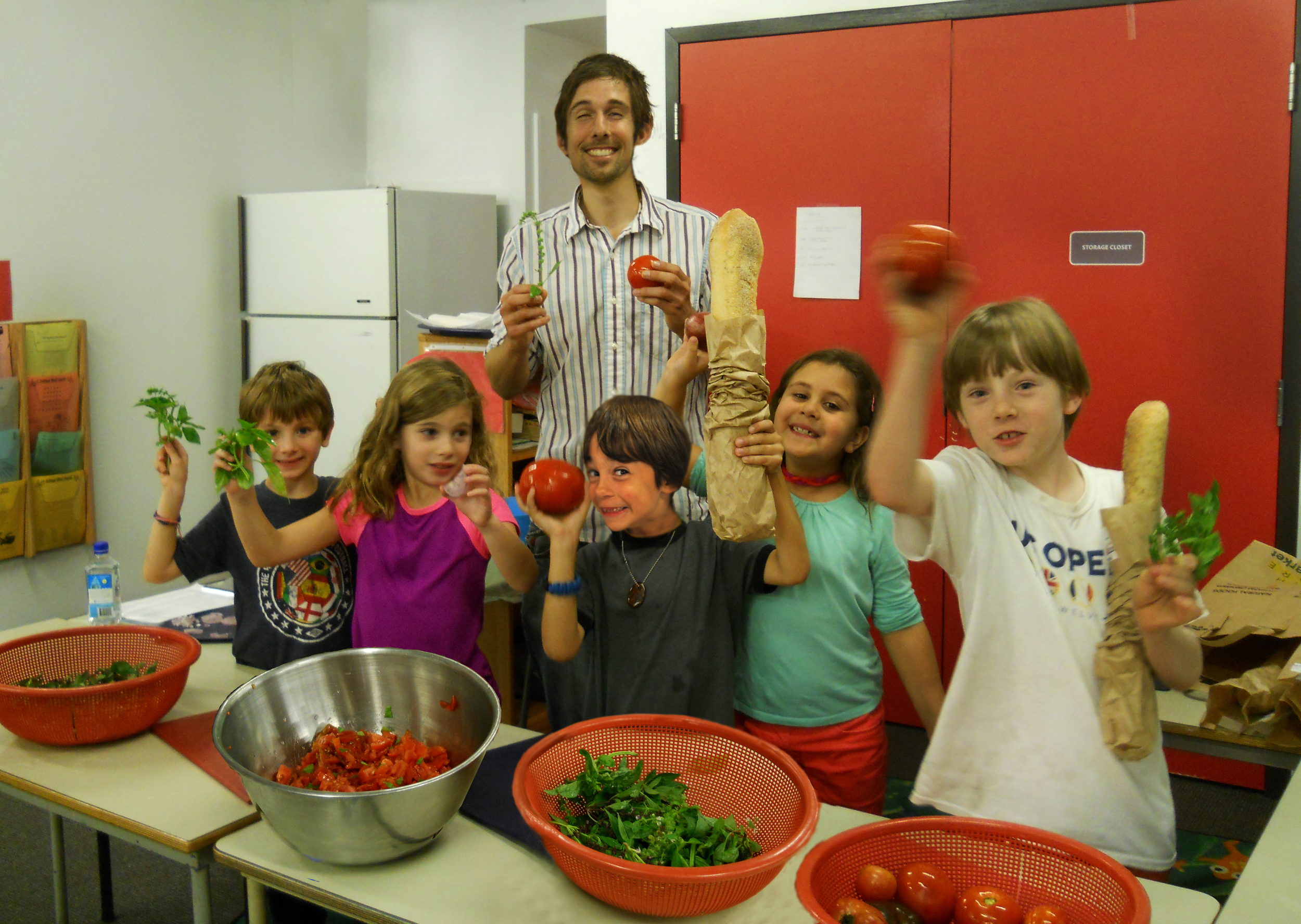5.  Preparing Bruschetta with Brian Jordan visiting chef in ASEP.jpg