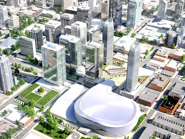 EDMONTON ARENA DISTRICT (CREDIT: WAM DEVELOPMENTS)
