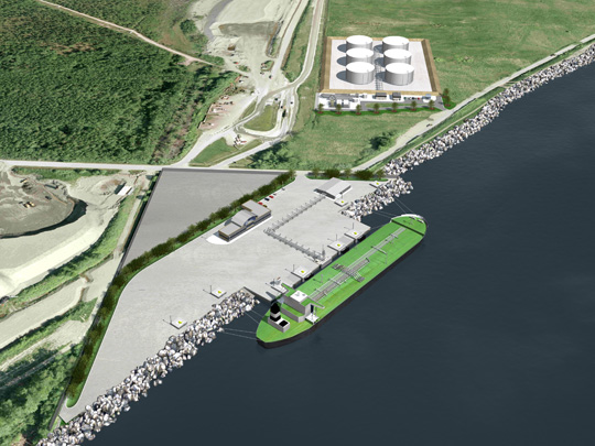 YVR FUEL DELIVERY PROJECT: MARINE LOADING TERMINAL