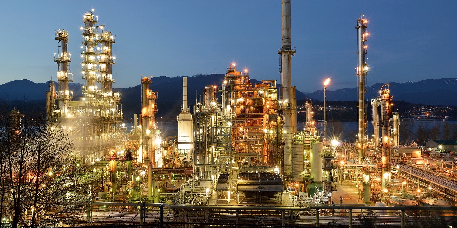 CHEVRON'S BURNABY REFINERY