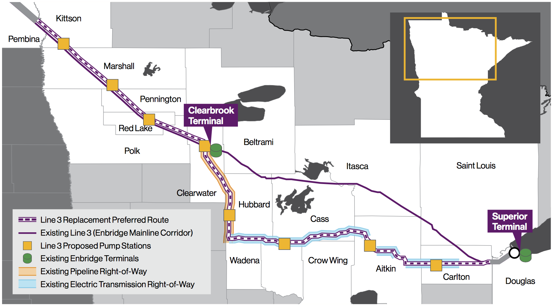 COURTESY ENBRIDGE  LINE 3 REPLACEMENT PROJECT SUMMARY