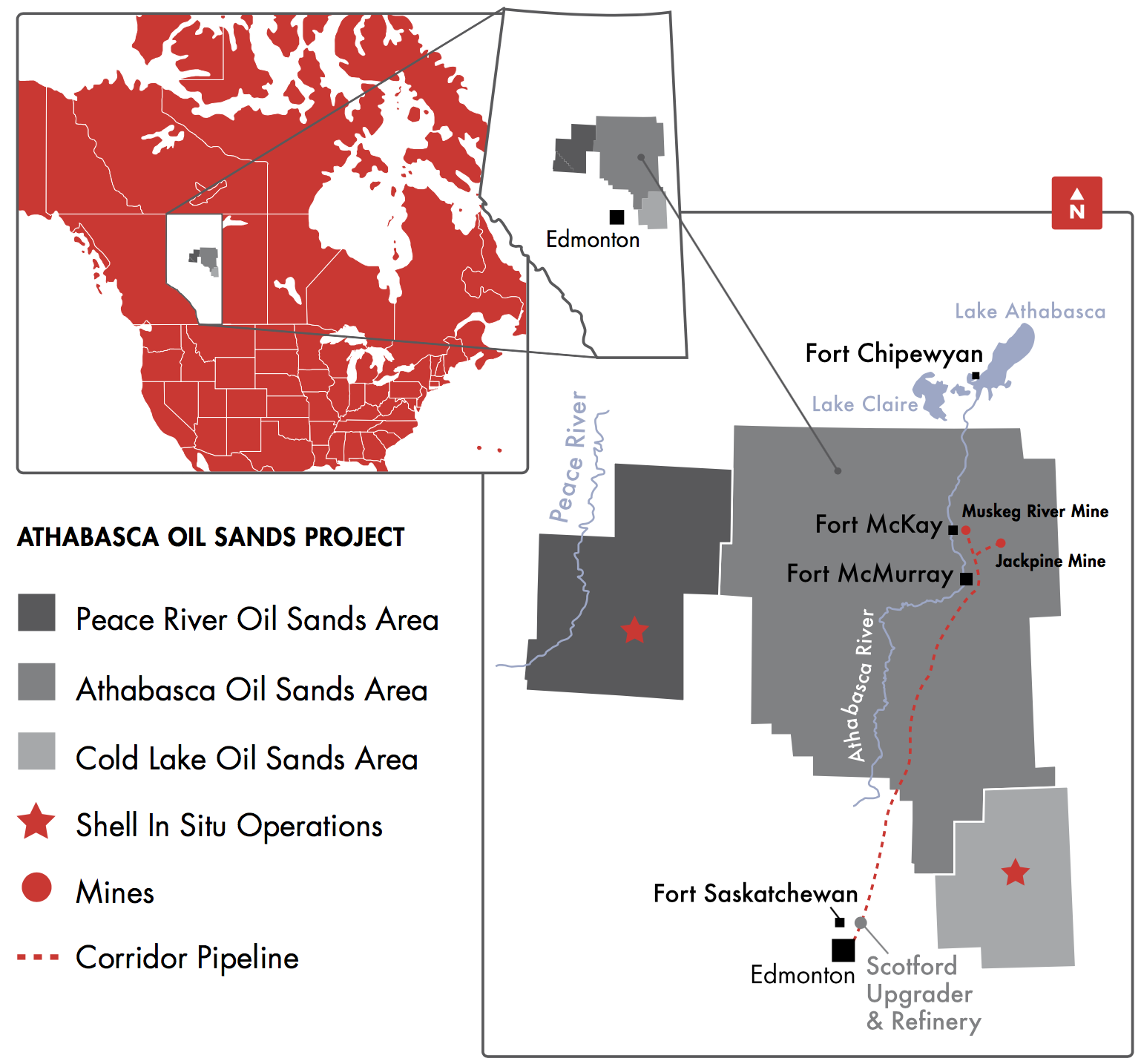 ATHABASCA OIL SANDS PROJECT (COURTESY SHELL CANADA)
