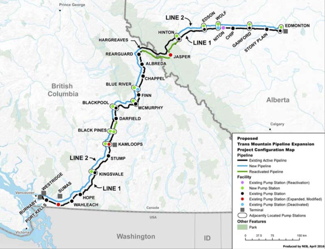 MAP COURTESY KINDER MORGAN
