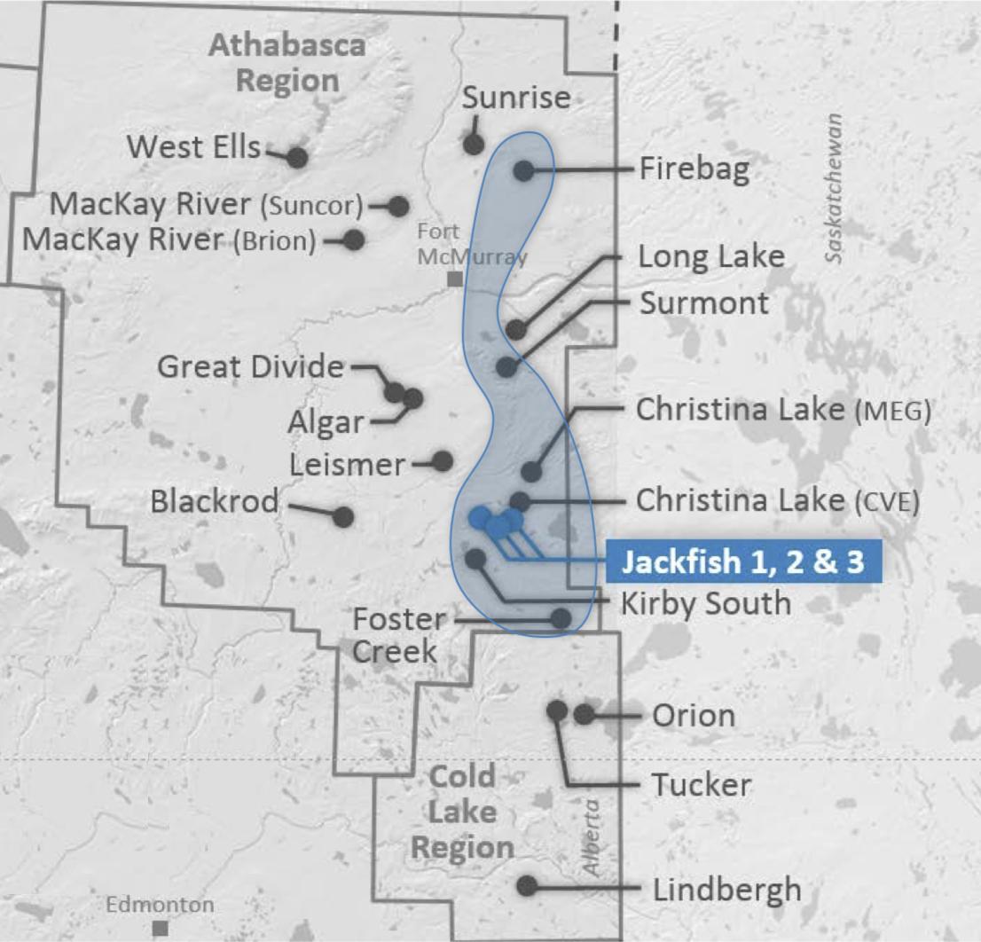 LOCATION MAP COURTESY DEVON ENERGY