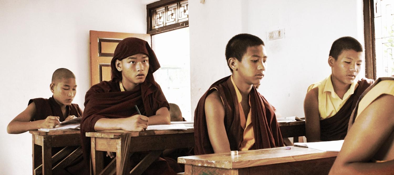 Attentive English students at  Matepani .
