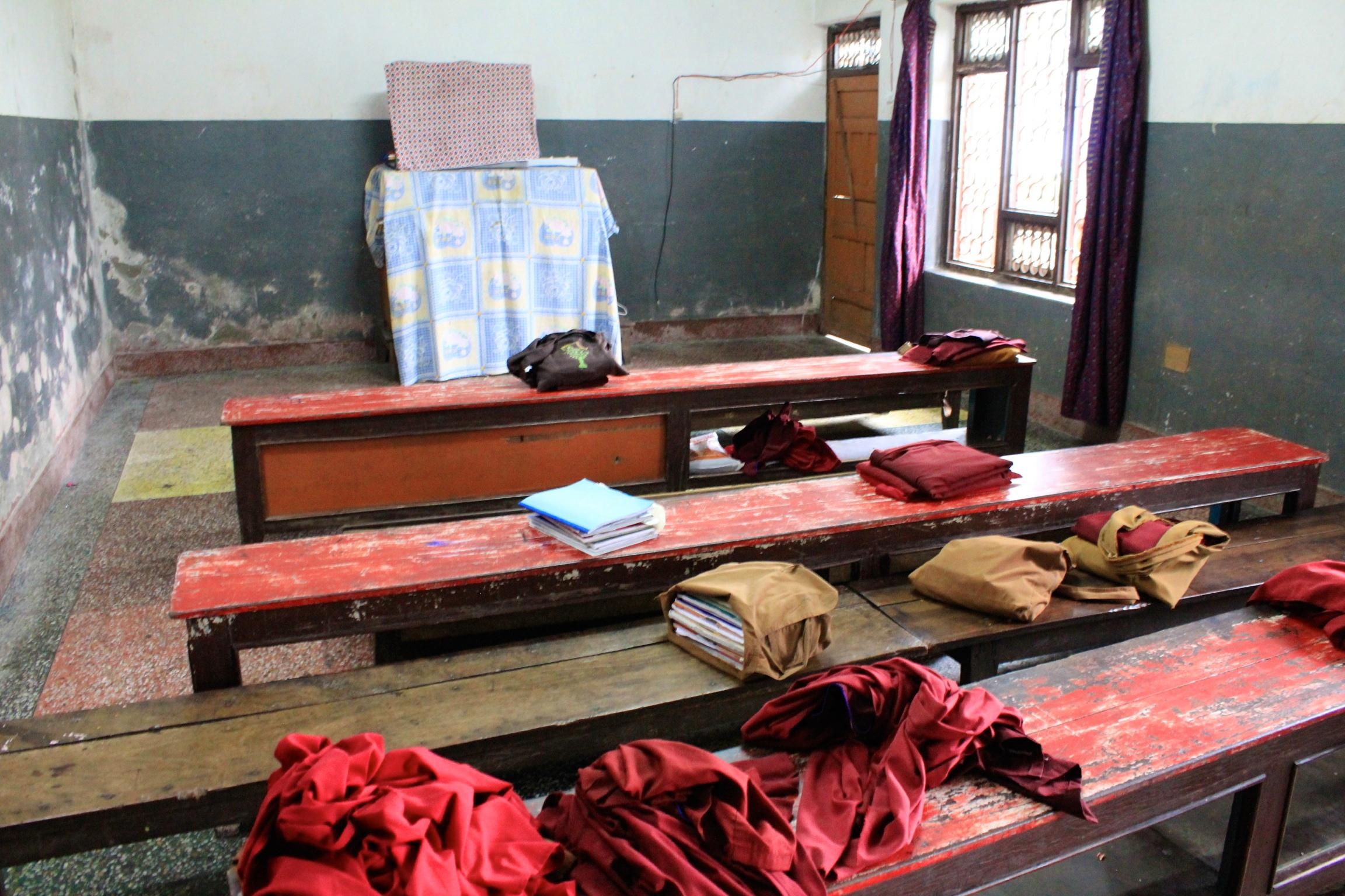 Classroom 1 at  Matepani Monastic Program .