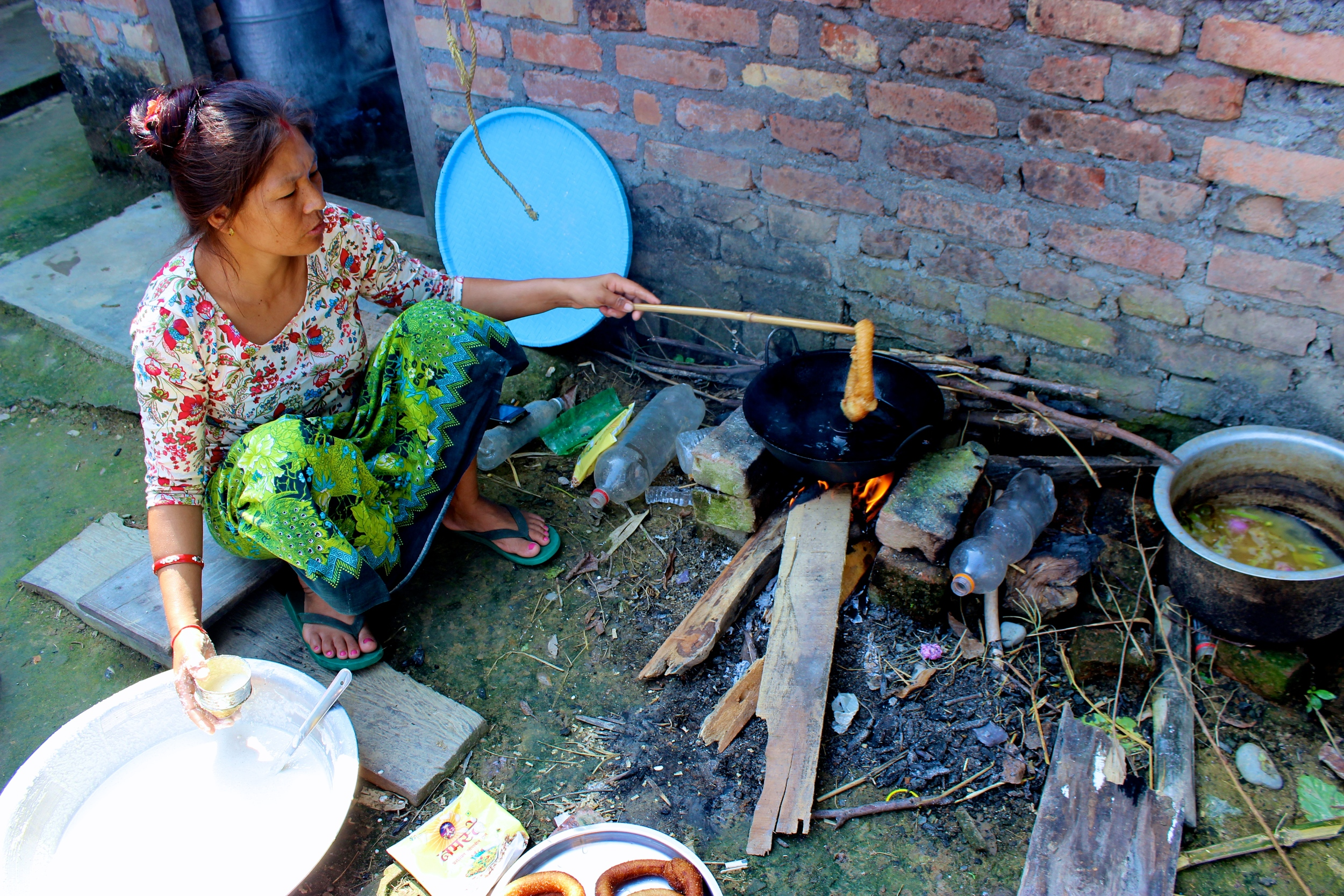 Traditional Nepali Cooking