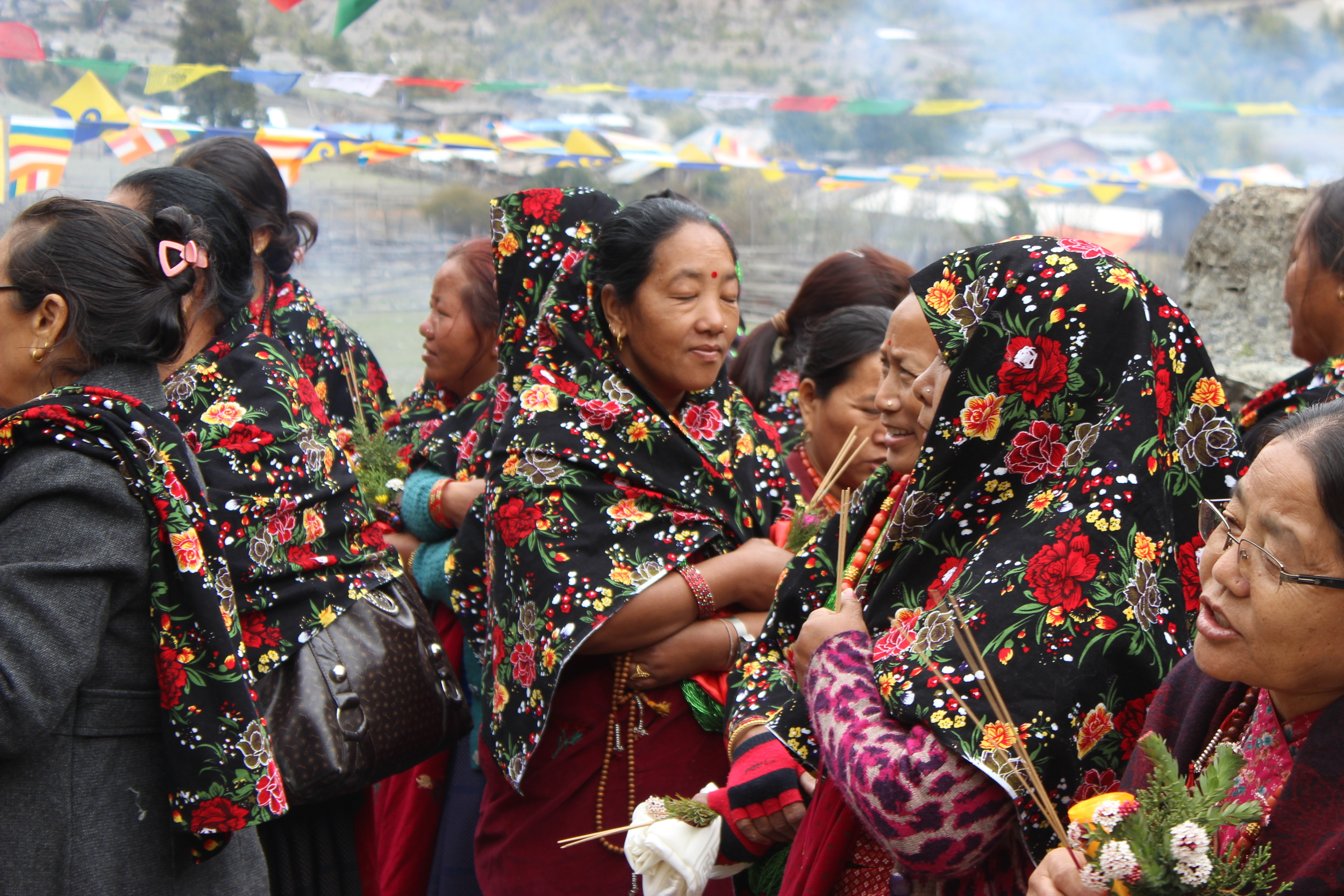 Traditional Dress, Manang District