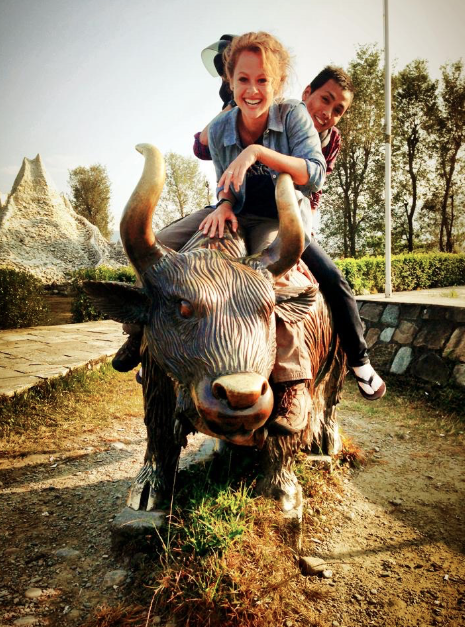 On the beaten track: International Mountain Museum. Off the beaten track: Bull riding.