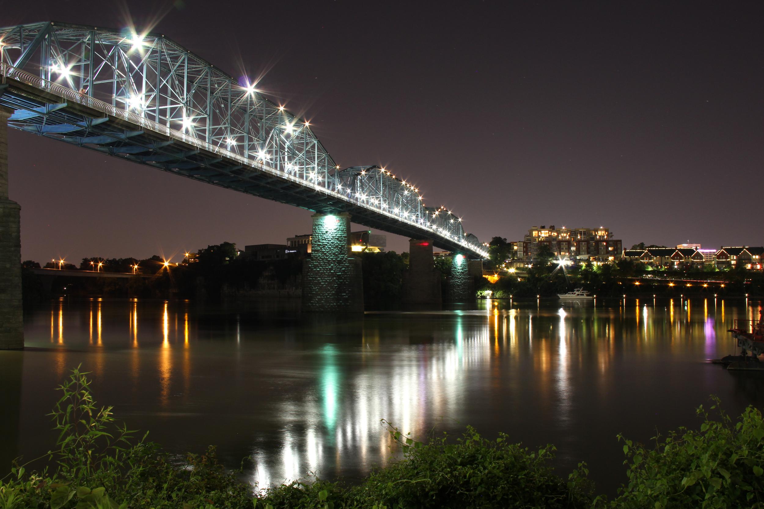 Walnut Street Bridge. Chattanooga, Tenn. 2013