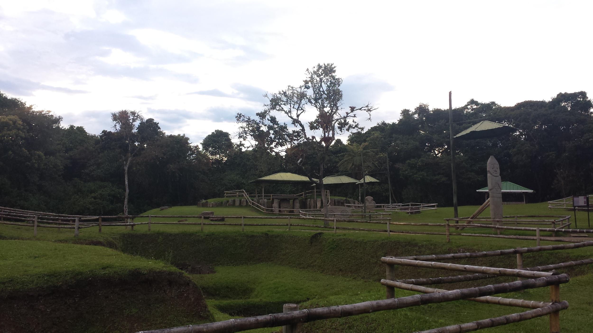 San Augustin archeological park