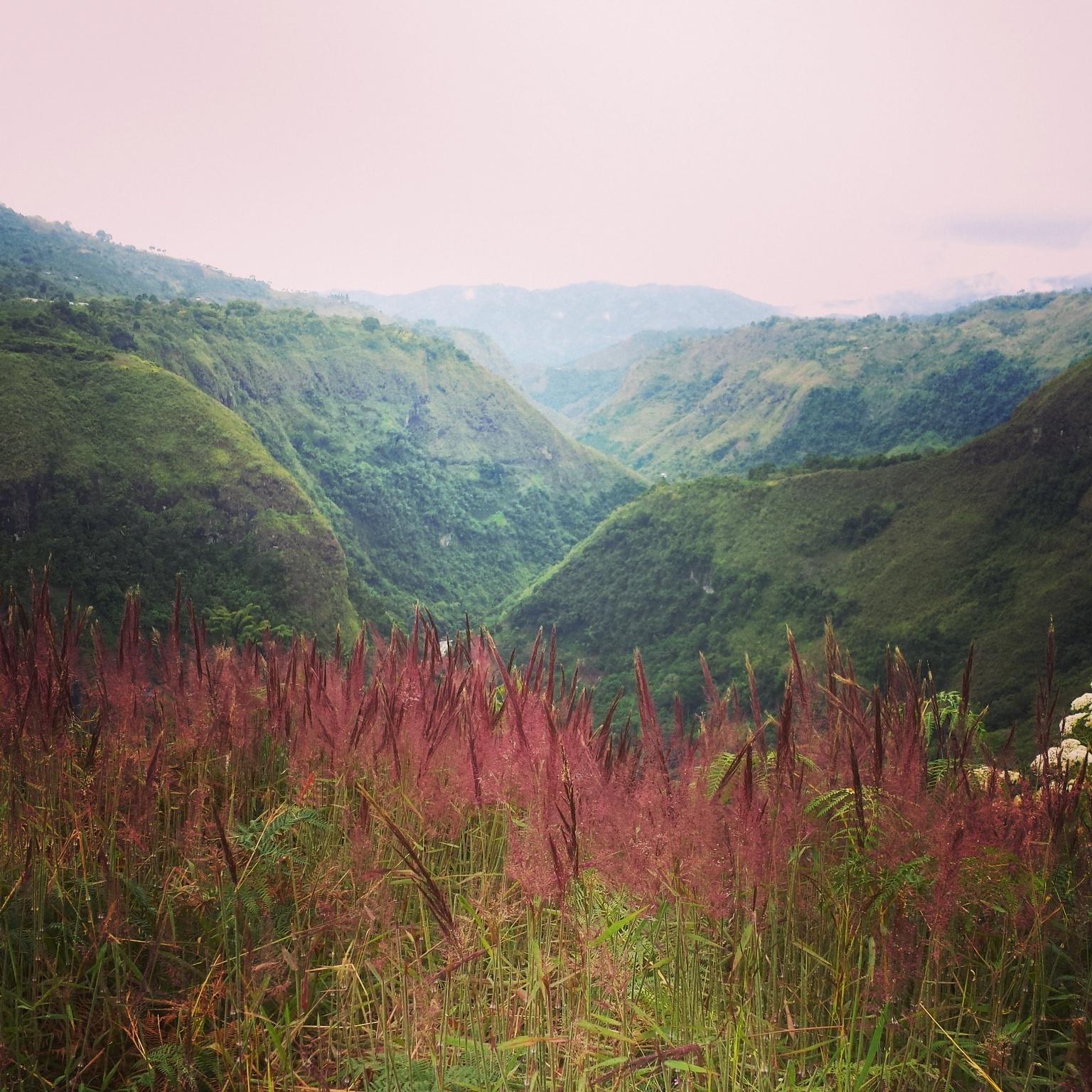 San Augustin landscape