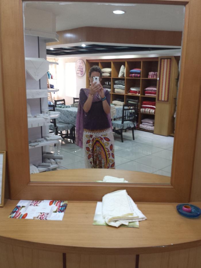 A selfie in the design room