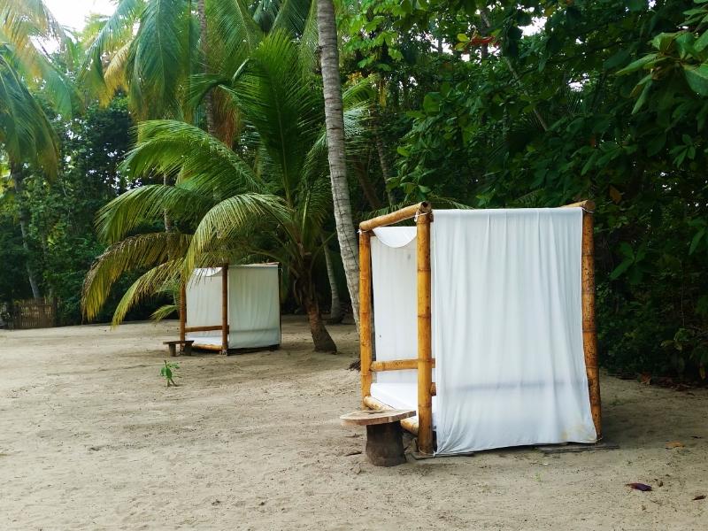 Beds scattered around Gitana Del Mar