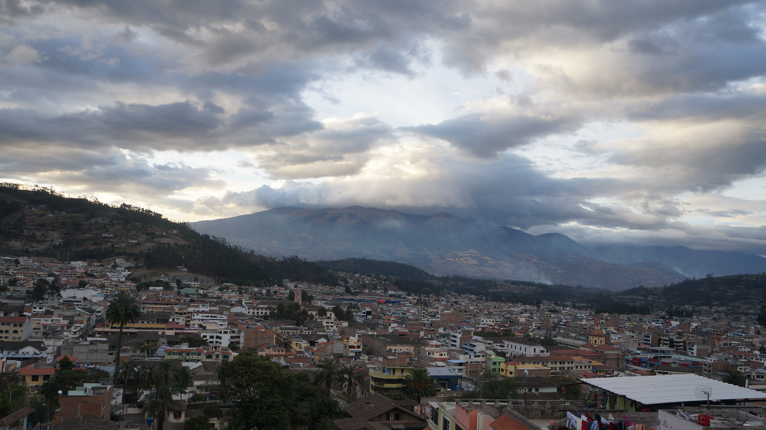 The views of this Volcano in Otavalo never get old. It stands over this village like a patriarchal protector.