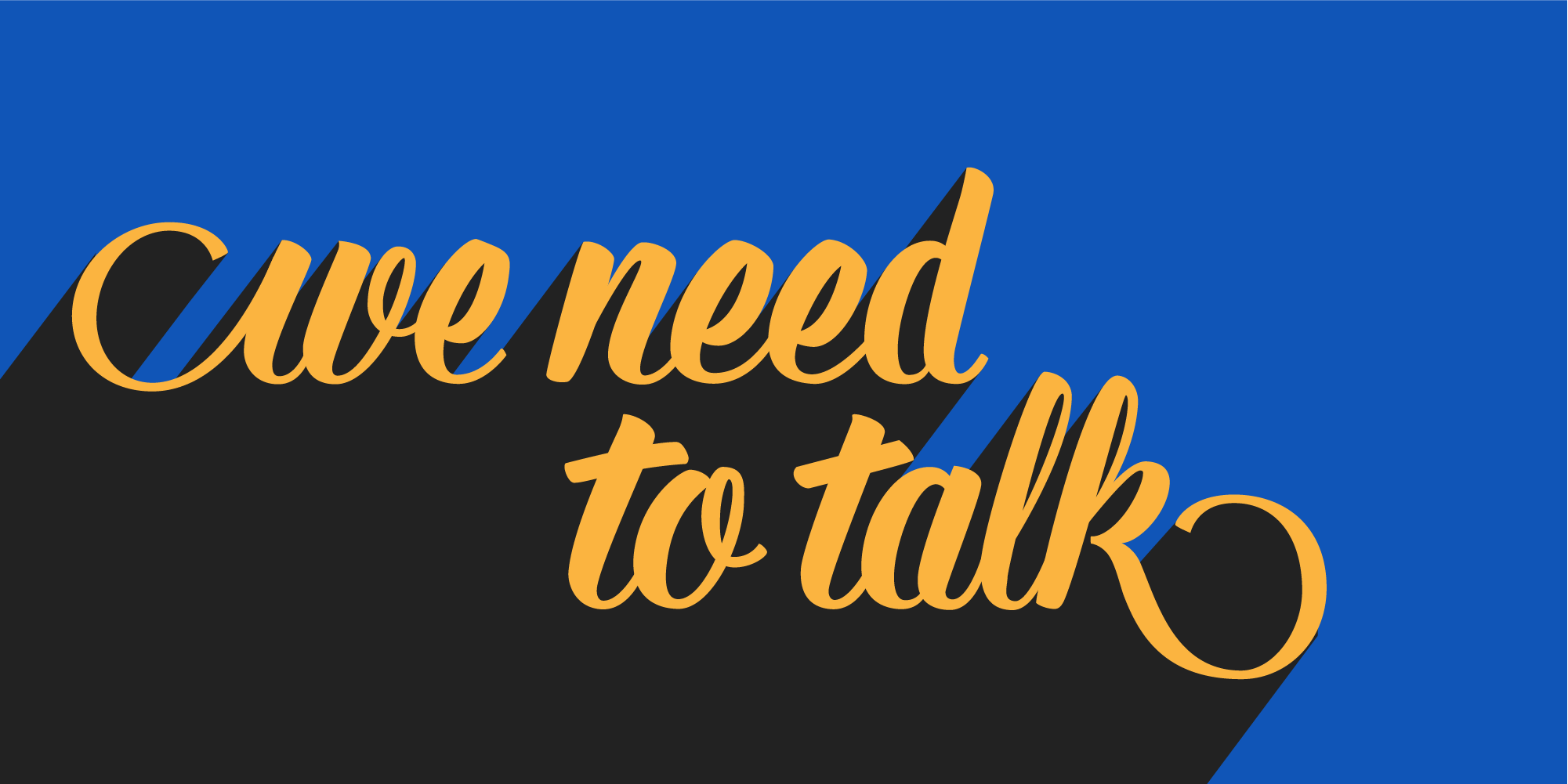 """""""We need to talk"""" was commissioned for the opening spread of the third issue of Coax , Louder Than Ten 's online magazine for project managers"""