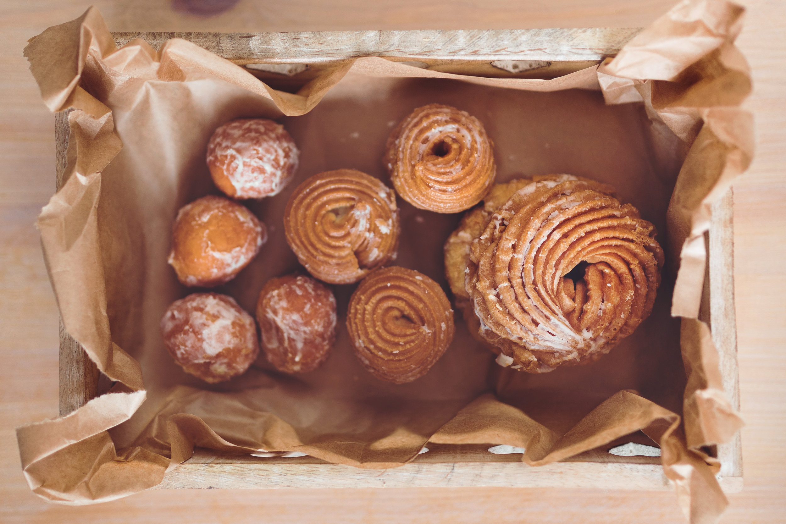 This could be about doughnuts or structuring an organization depending on what you write with it. Photo from  Kaboompics
