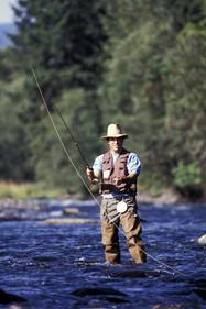 Several outfitters in town provide bait, tackle, and the required license for those over 15 years of age.  Guided tours are also available from several expert local outfitters. We recommend   Scots Sporting Goods    Kirk's Fly Shop: