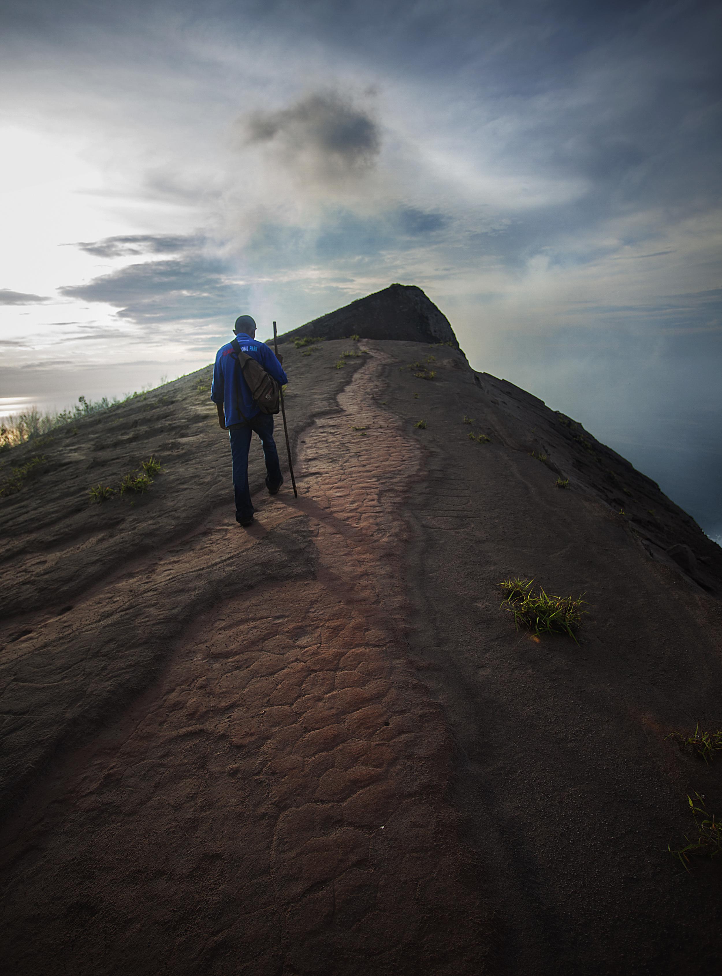 Near the summit of Gunung Iya, Flores