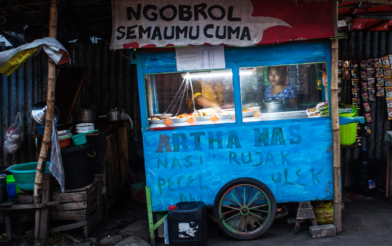 typical food stall