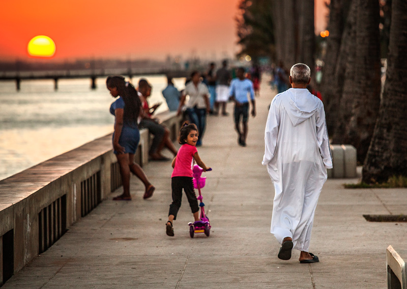 another boardwalk shot in Maputo