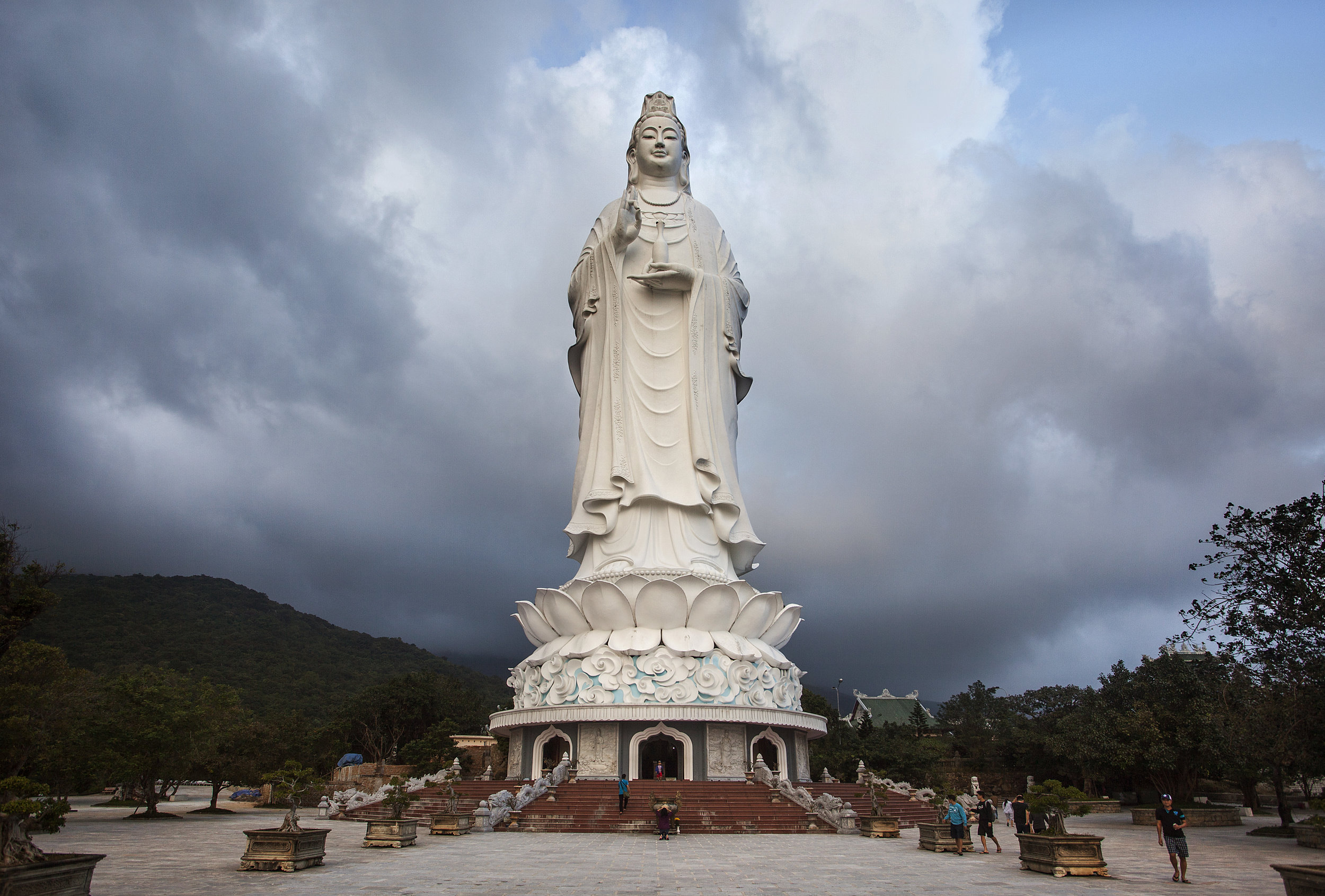 the lady buddha