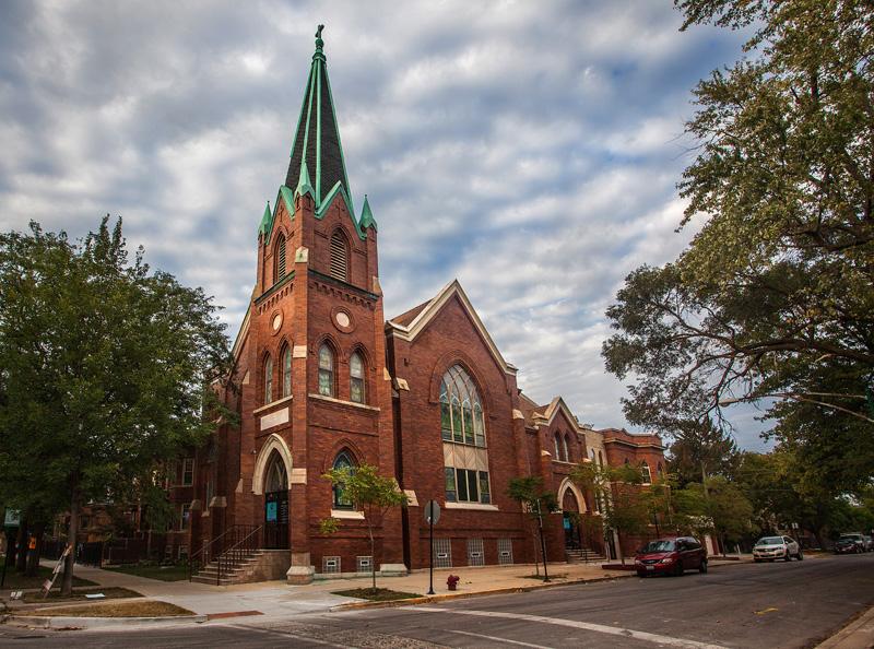 no shortage of churches