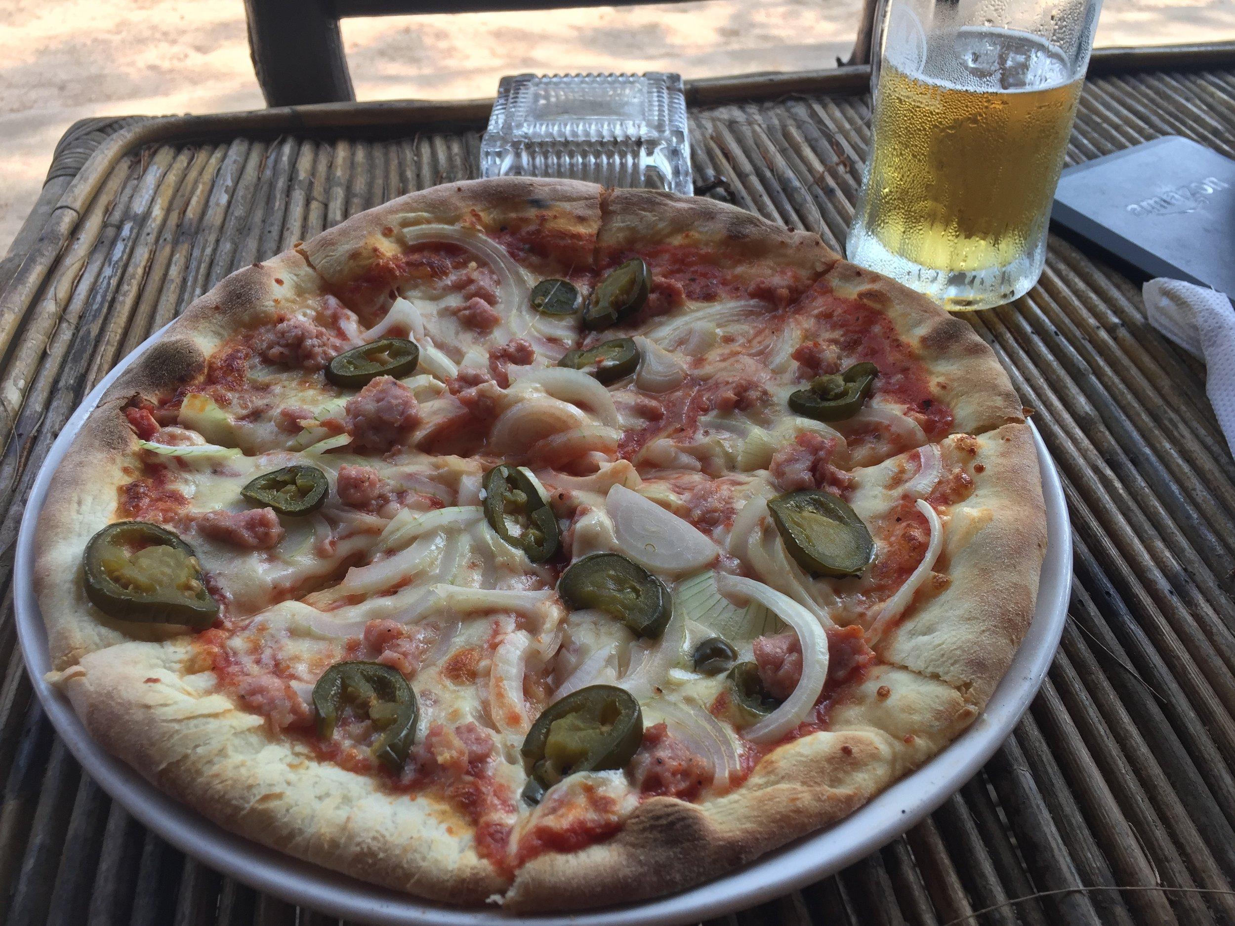 Pretty damn good pizza