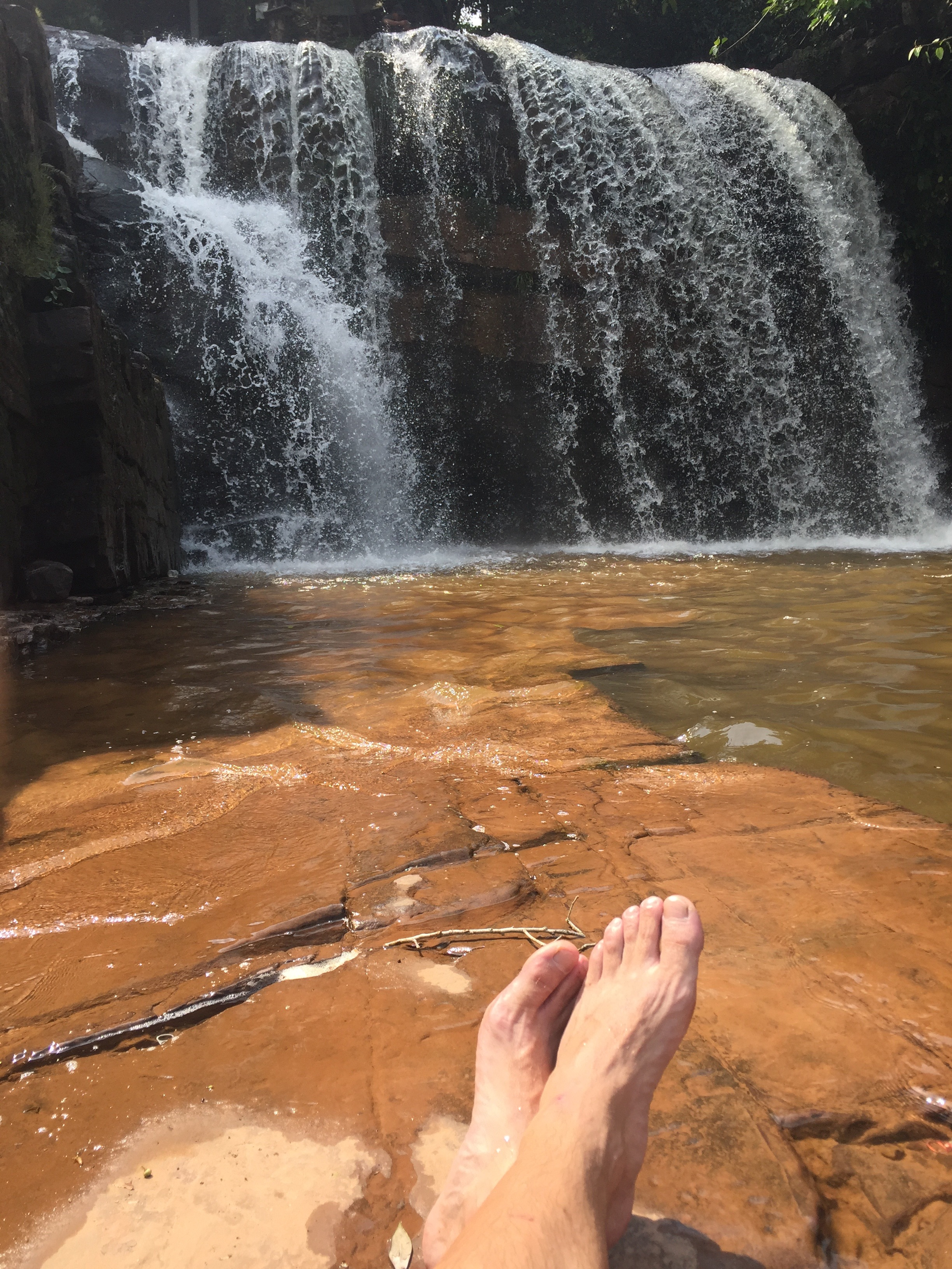 A day out at the waterfalls