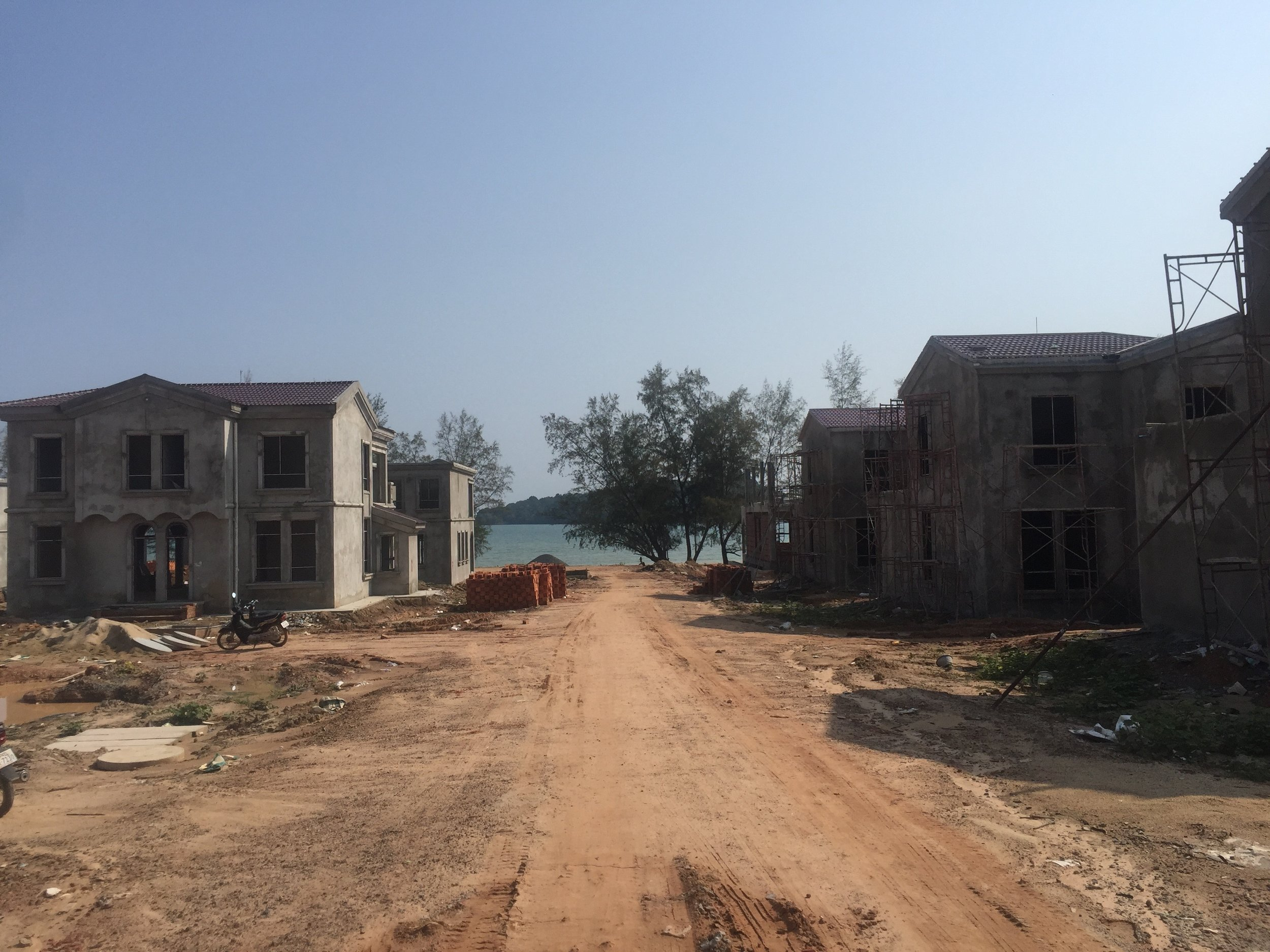 Some massive Chinese housing community being built somewhere down along the coast