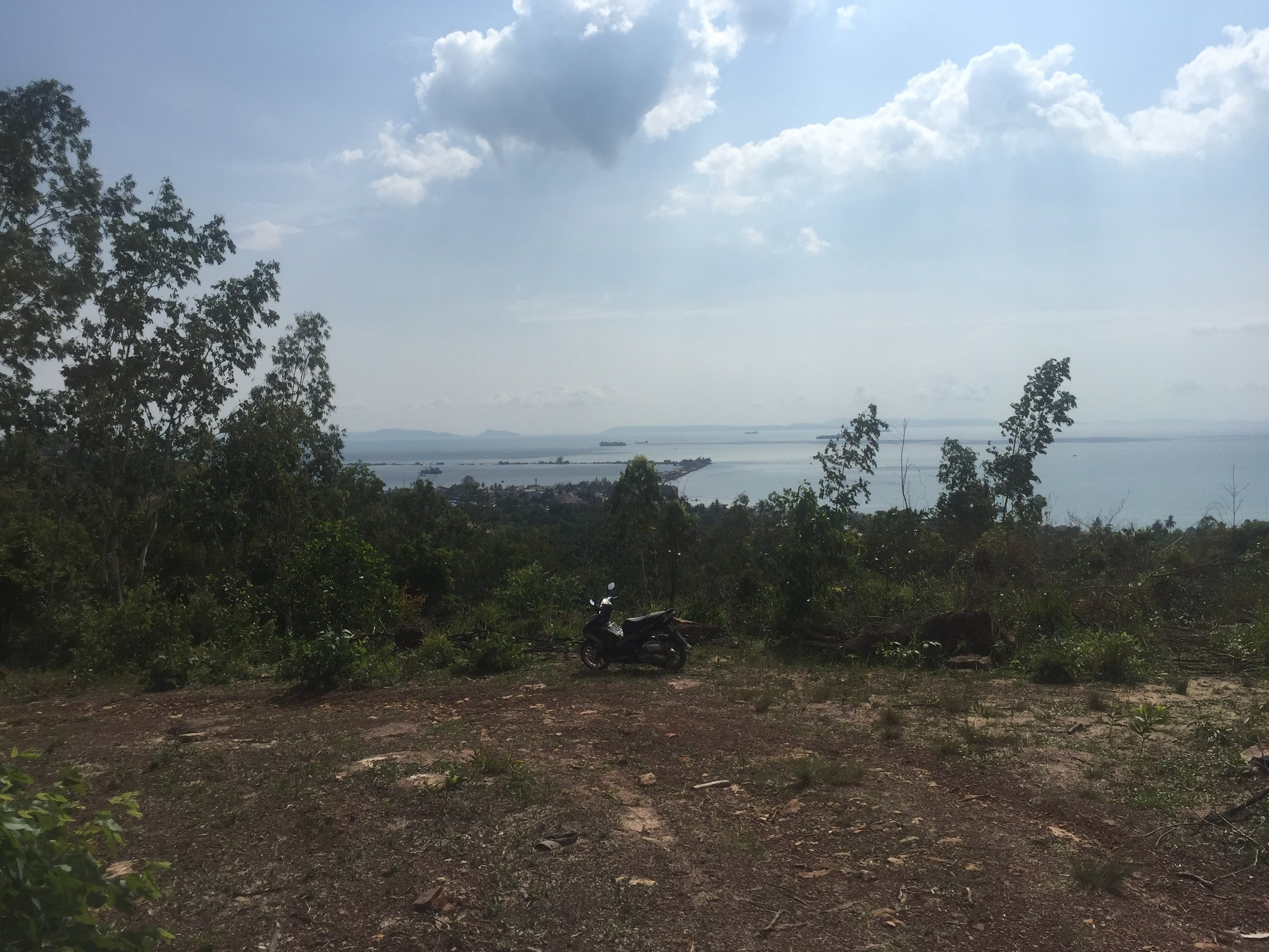 Riding around the hills outside of town