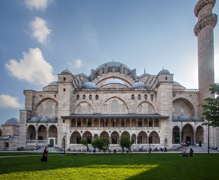 The Suleyman mosque