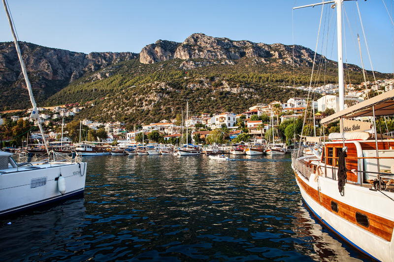 docked in Kas