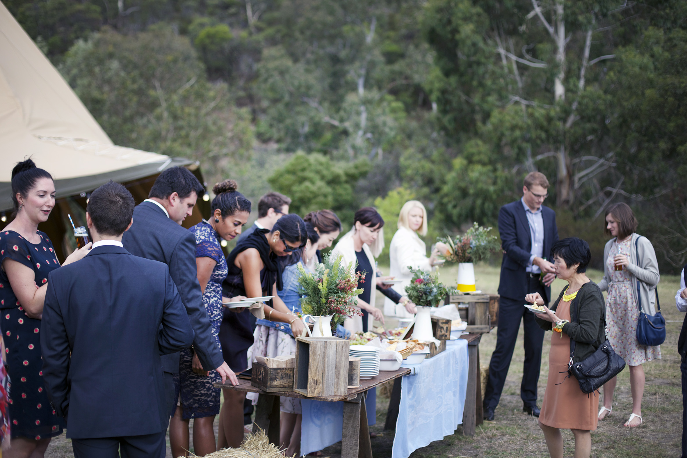 Jing Jing and Luke's vintage paddock wedding